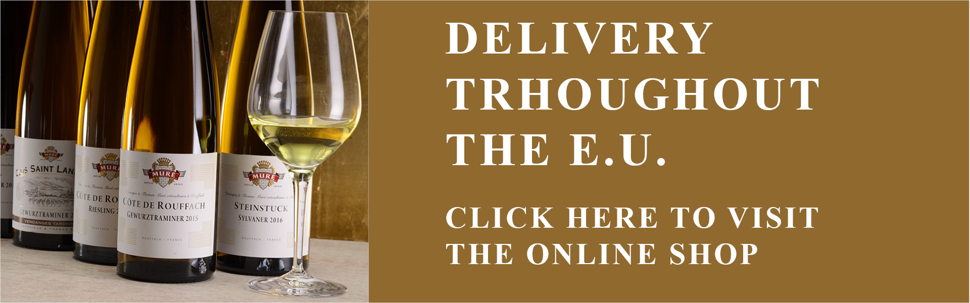 Order online our Organic Alsace Wines and Crémants d'Alsace